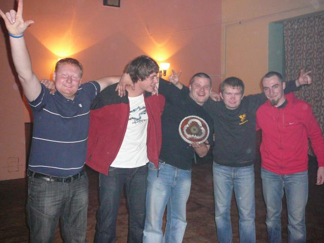 Zakončení sezóny 2008